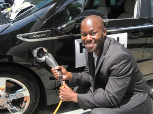 Charging an electric car Stamford CT
