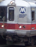 Metro-North train approaching - Sustainable Stamford, CT